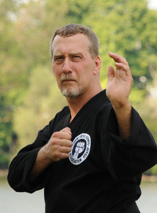 2nd Degree Black Belt Greg Shreve