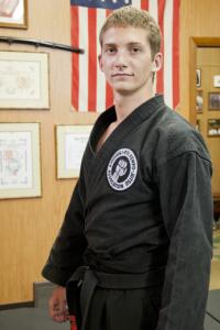2nd Degree Black Belt Nate Long