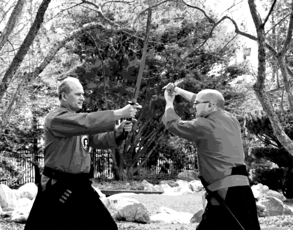 Sensei Lance Long and Soke Dennis Niemier