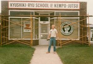 Soke Niemier at School in 1983